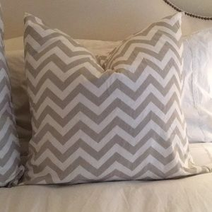 Other - Two custom made chevron pillow cases